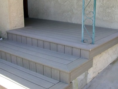 The Sun Coast Deck Way - A deck with edges and corners that are properly trimmed and finished.
